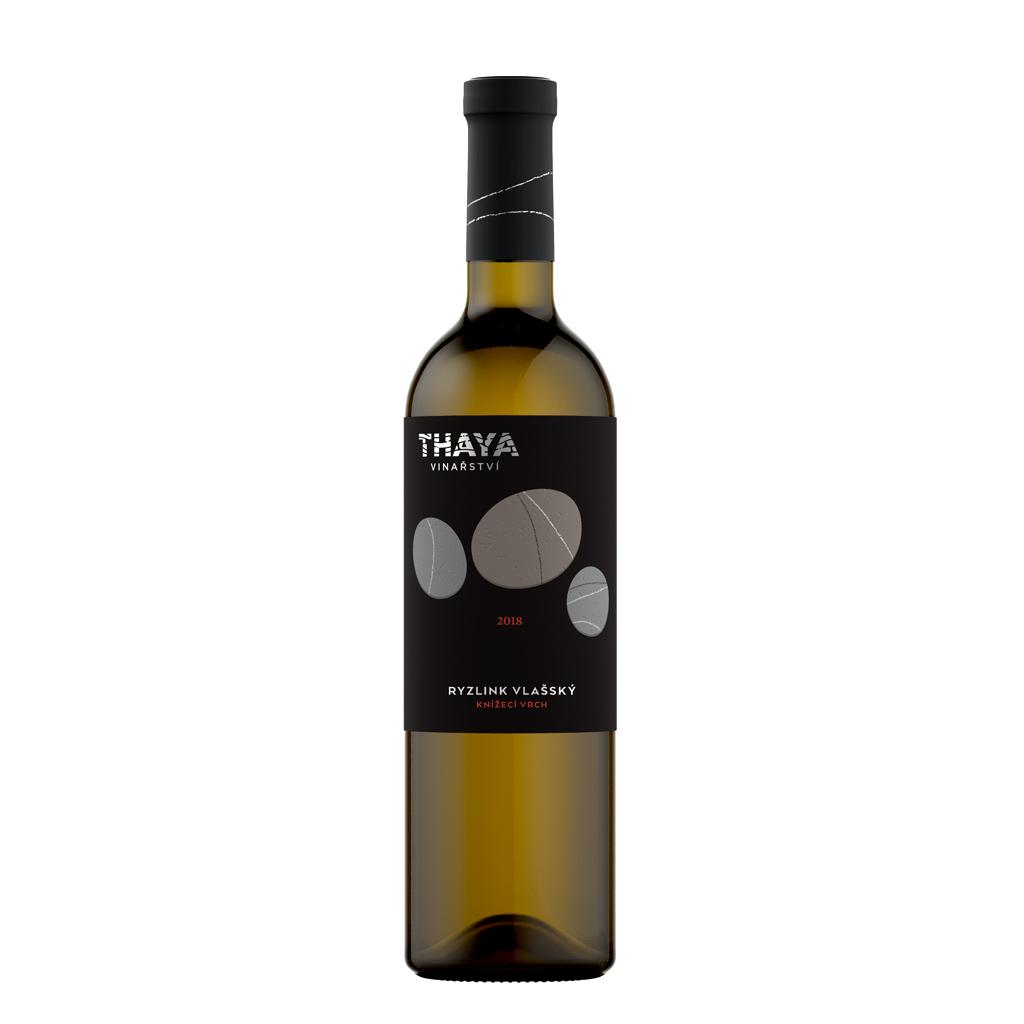 Ryzlink Vlašský Premium 2018 pozdní sběr suché Thaya Wine of Czech Republic Michal Procházka Vinotéka Klánovice