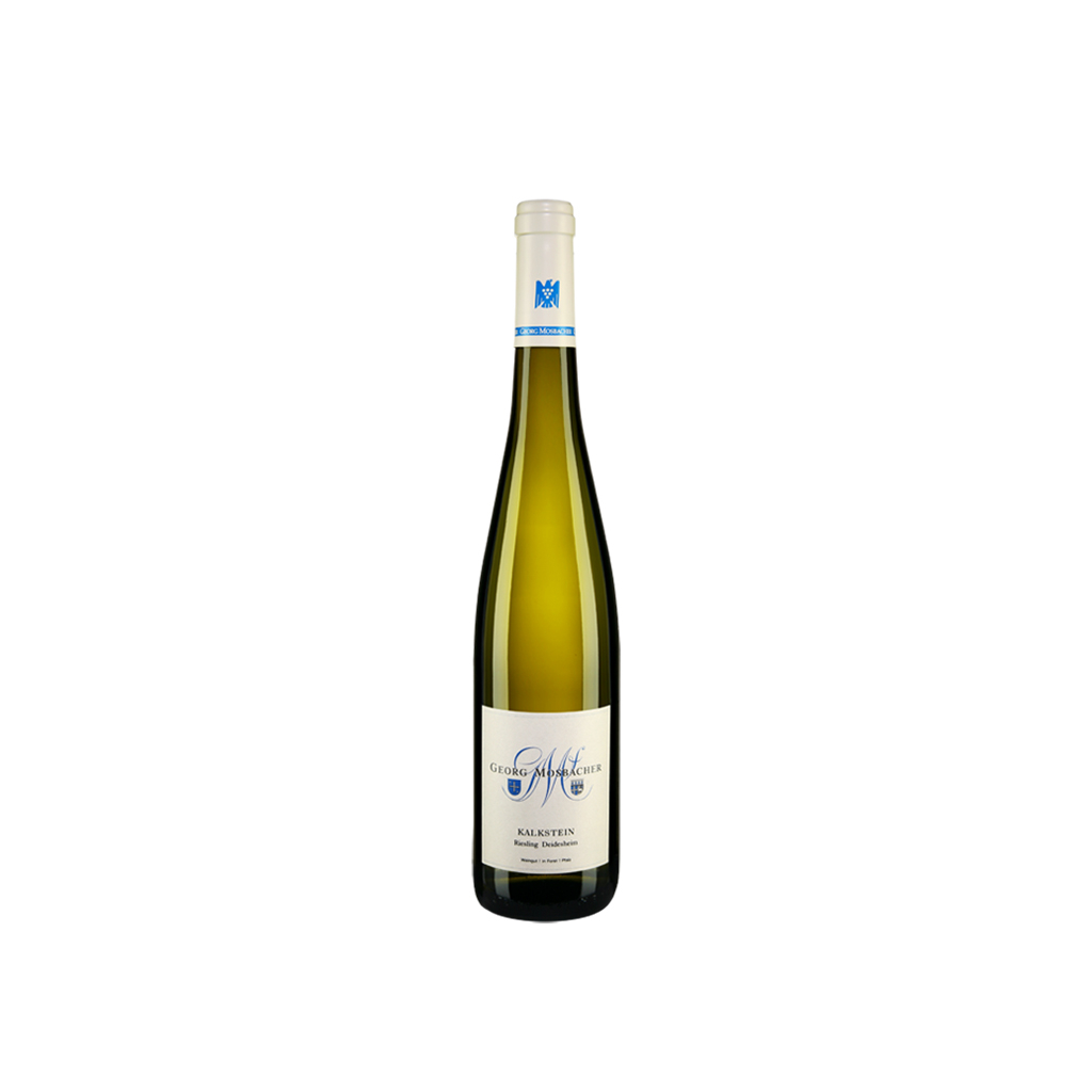 Kalkstein Riesling Diedesheimer Georg Mosbacher Wine of Germany Michal Procházka Vinotéka Klánovice