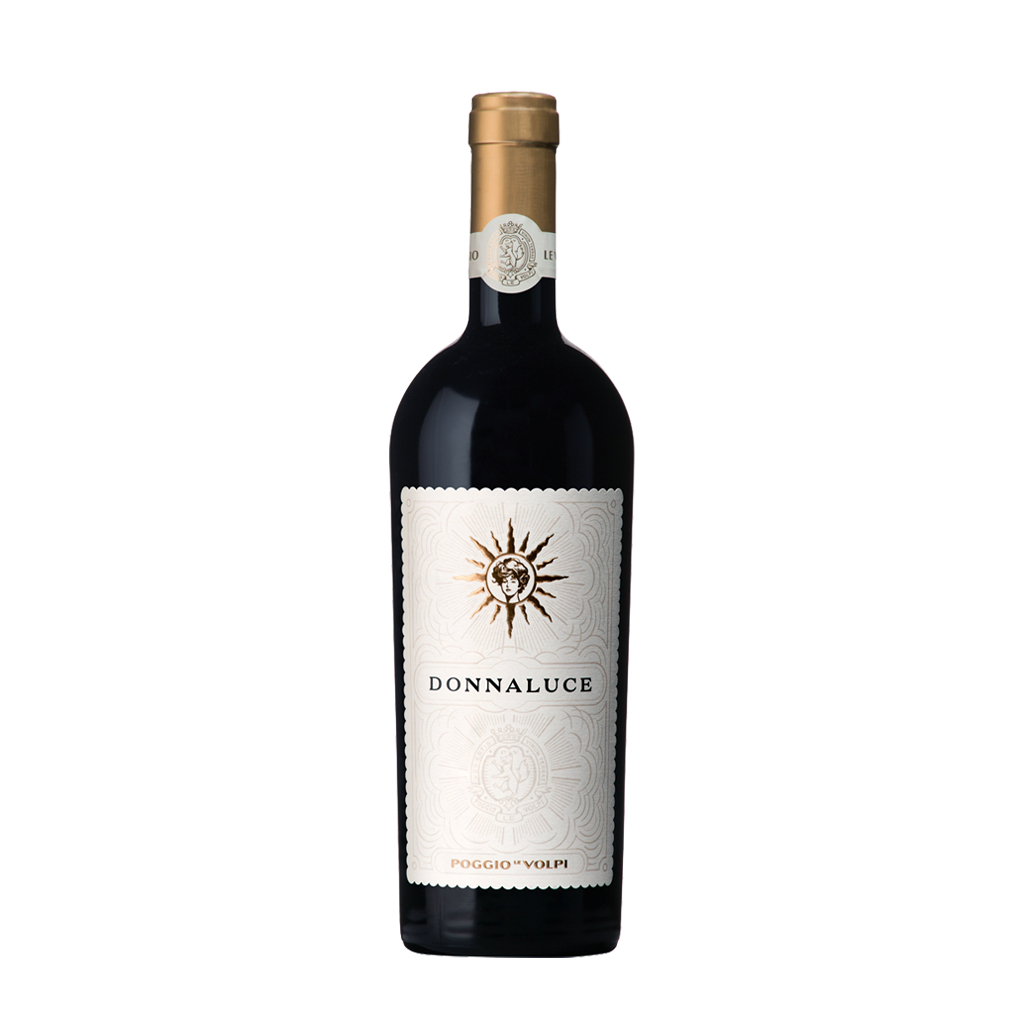 Donnaluce Lazio Rosso IGT Poggio le Volpi Wine of Italy Michal Procházka Vinotéka Klánovice