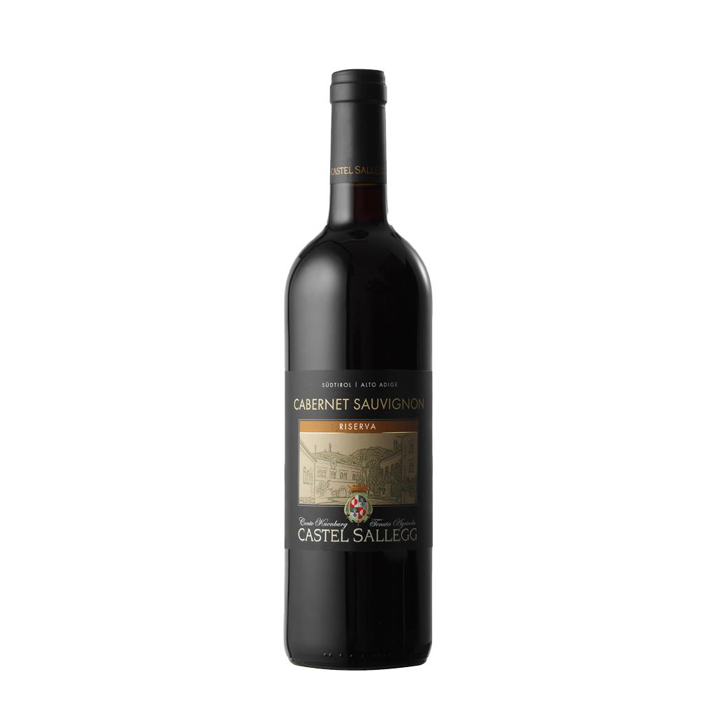 Cabernet Sauvignon Sallegg Riserva Castell Sallegg Wine of Italy Michal Procházka Vinotéka Klánovice