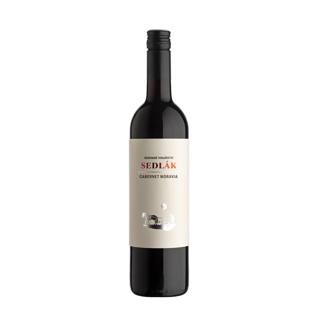 Cabernet Moravia moravské zemské víno Sedlák Vinotéka Klánovice