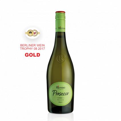 Riondo Cuvée 18 Prosecco VINO e CUORE GOLD MEDAL