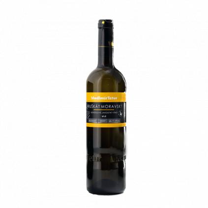 Tetur Muškát moravský jakostní víno Wine of Czech Republic Michal Procházka Vinotéka Klánovice