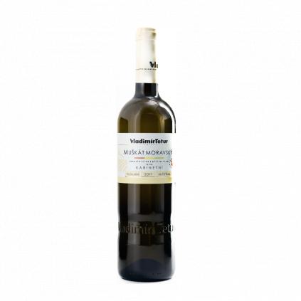 Tetur Muškát moravský kabinet víno Wine of Czech Republic Michal Procházka Vinotéka Klánovice