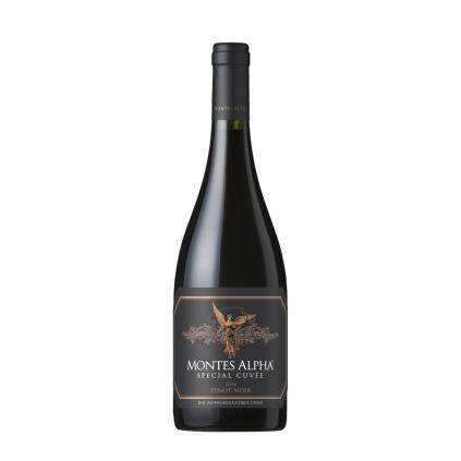 Montes Alpha Special Cuvée Pinot Noir Vino e Cuore 2014 Wine of Chile Michal Procházka