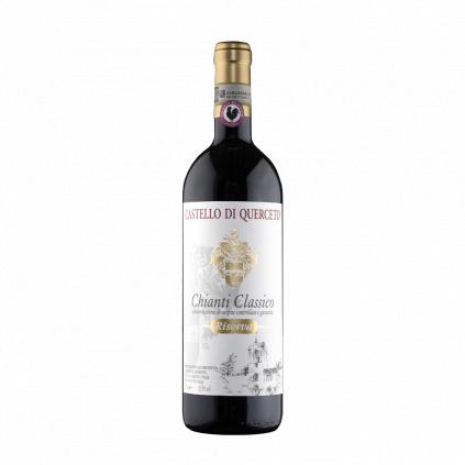 Riserva Chianti Classico Castello di Querceto Wine of Italy Michal Procházka Vinotéka Klánovice