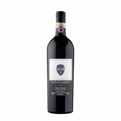 Il Picchio Gran Selezione Chianti Classico Castello di Querceto Wine of Italy Michal Procházka Vinotéka Klánovice