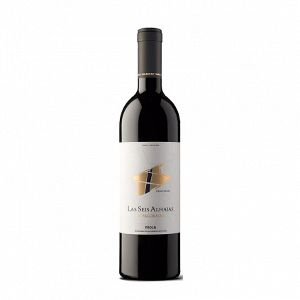 Las Seis Alhajas Graciano Bodegas Valdemar Rioja Wine of Spain Michal Procházka Vinotéka Klánovice