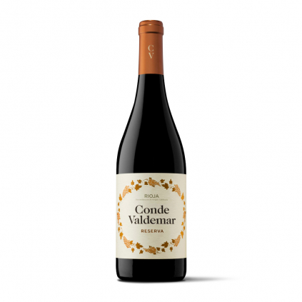 Reserva Conde Valdemar Bodegas Valdemar Rioja Wine of Spain Michal Procházka Vinotéka Klánovice