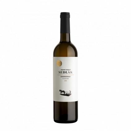 Chardonnay pozdní sběr 2019 Sedlák Vinotéka Klánovice