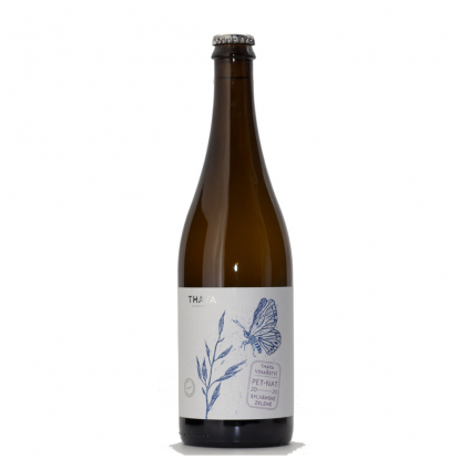 Pet Nat Sylvánské Zelené 2020 Thaya Wine of Czech Republic Michal Procházka Vinotéka Klánovice