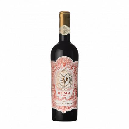 Roma rosso IGT Poggio le Volpi Wine of Italy Michal Procházka Vinotéka Klánovice