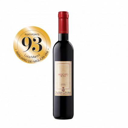 93 Luca Maroni Moscato Rosa Castell Sallegg Wine of Italy Michal Procházka Vinotéka Klánovice