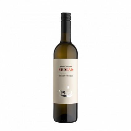 Müller Thurgau moravské zemské víno Sedlák Vinotéka Klánovice