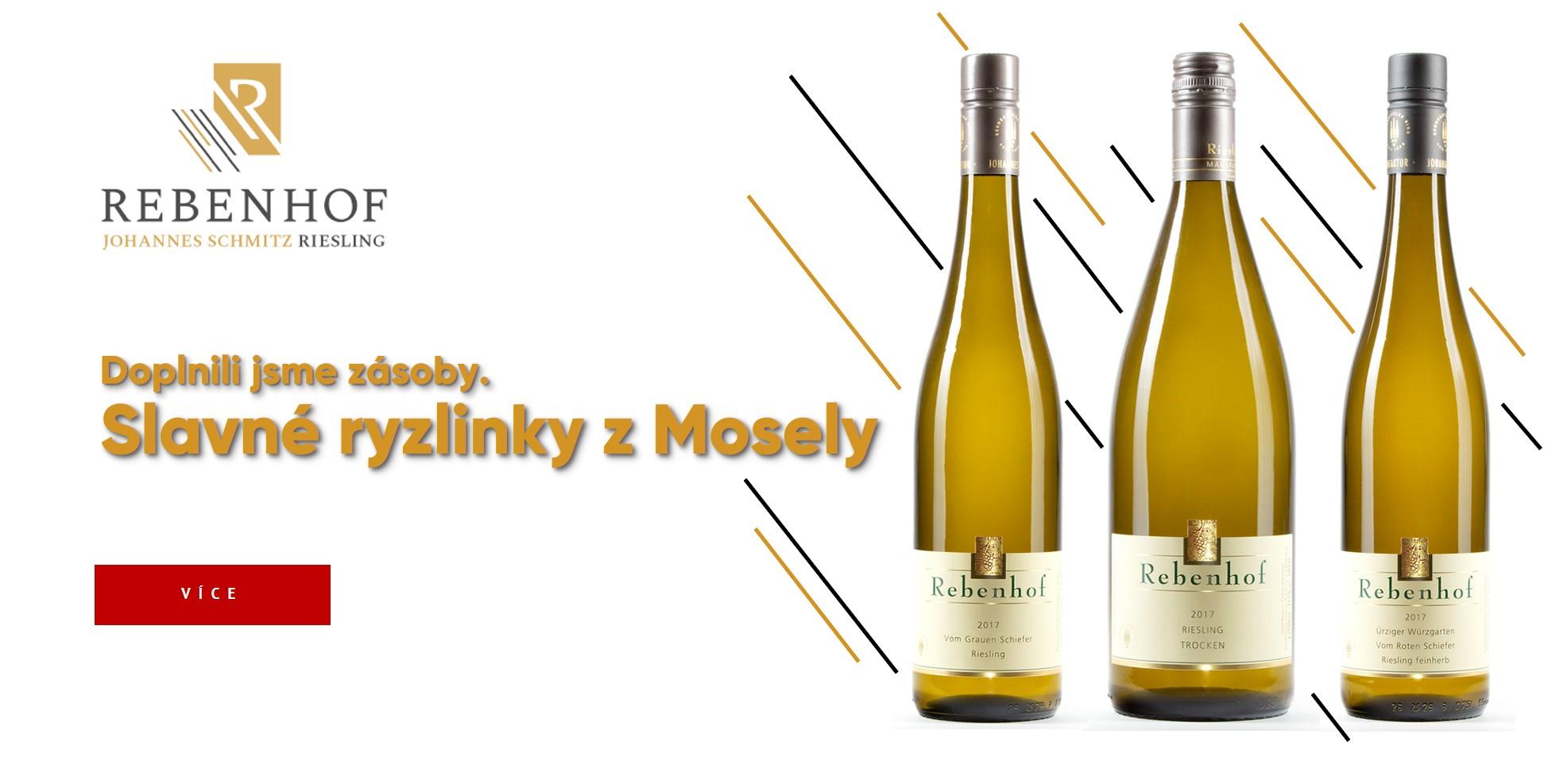 Slavná vína z Mosely