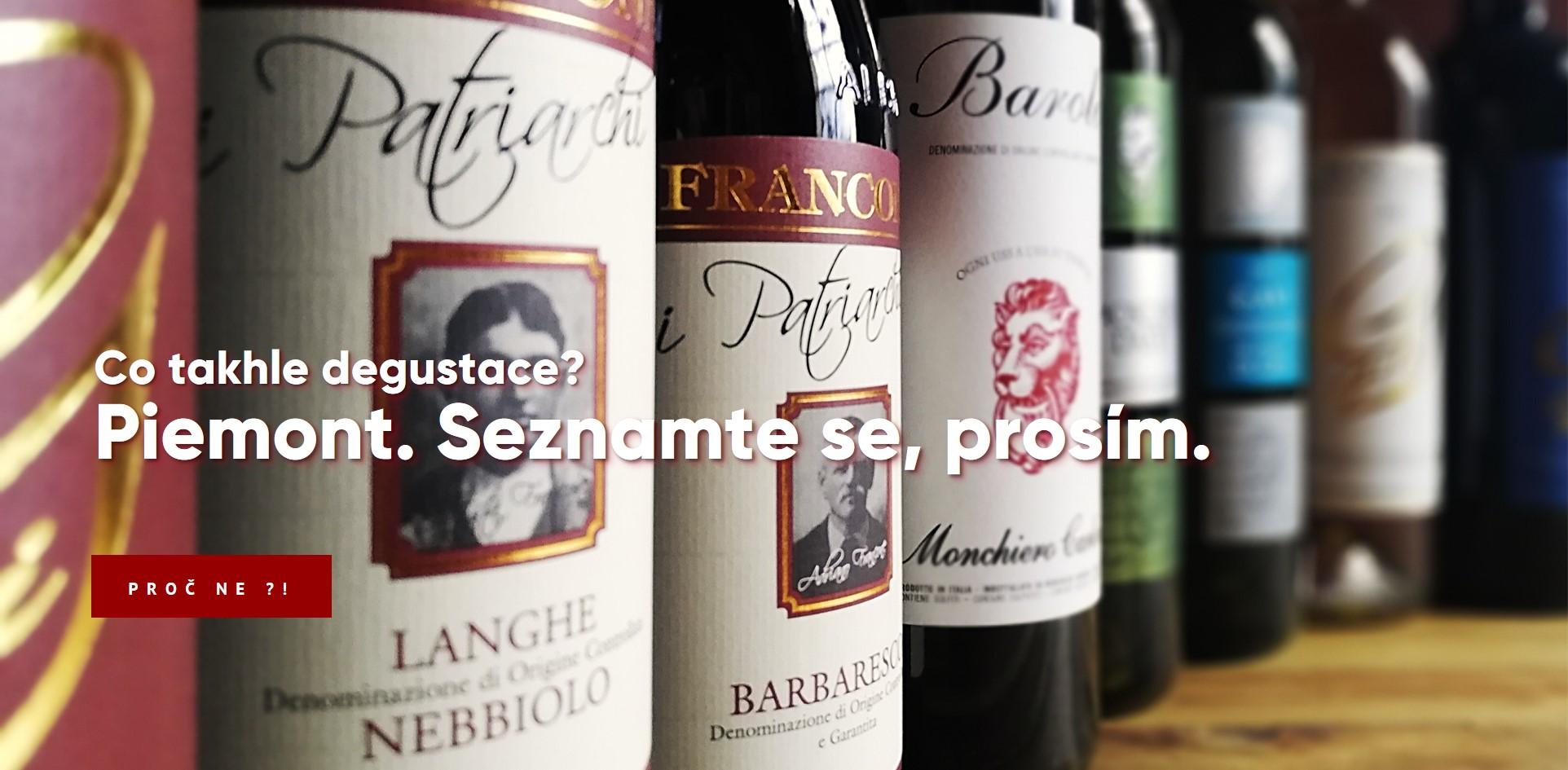Ochutnávka Piemont