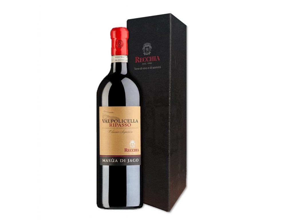 Recchia Valpolicella Ripasso Classico Superiore magnum box