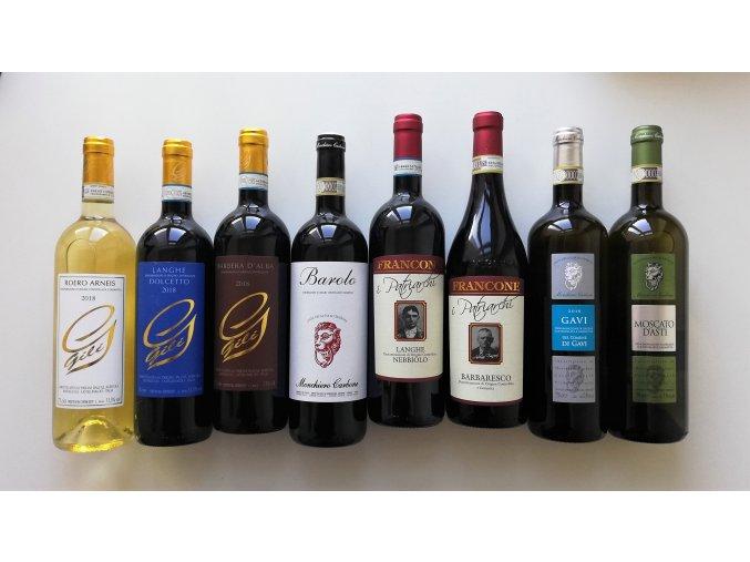 """28. 11. 2019 - Ochutnávka vín """"Piemont. Seznamte se, prosím."""" - VYPRODÁNO"""