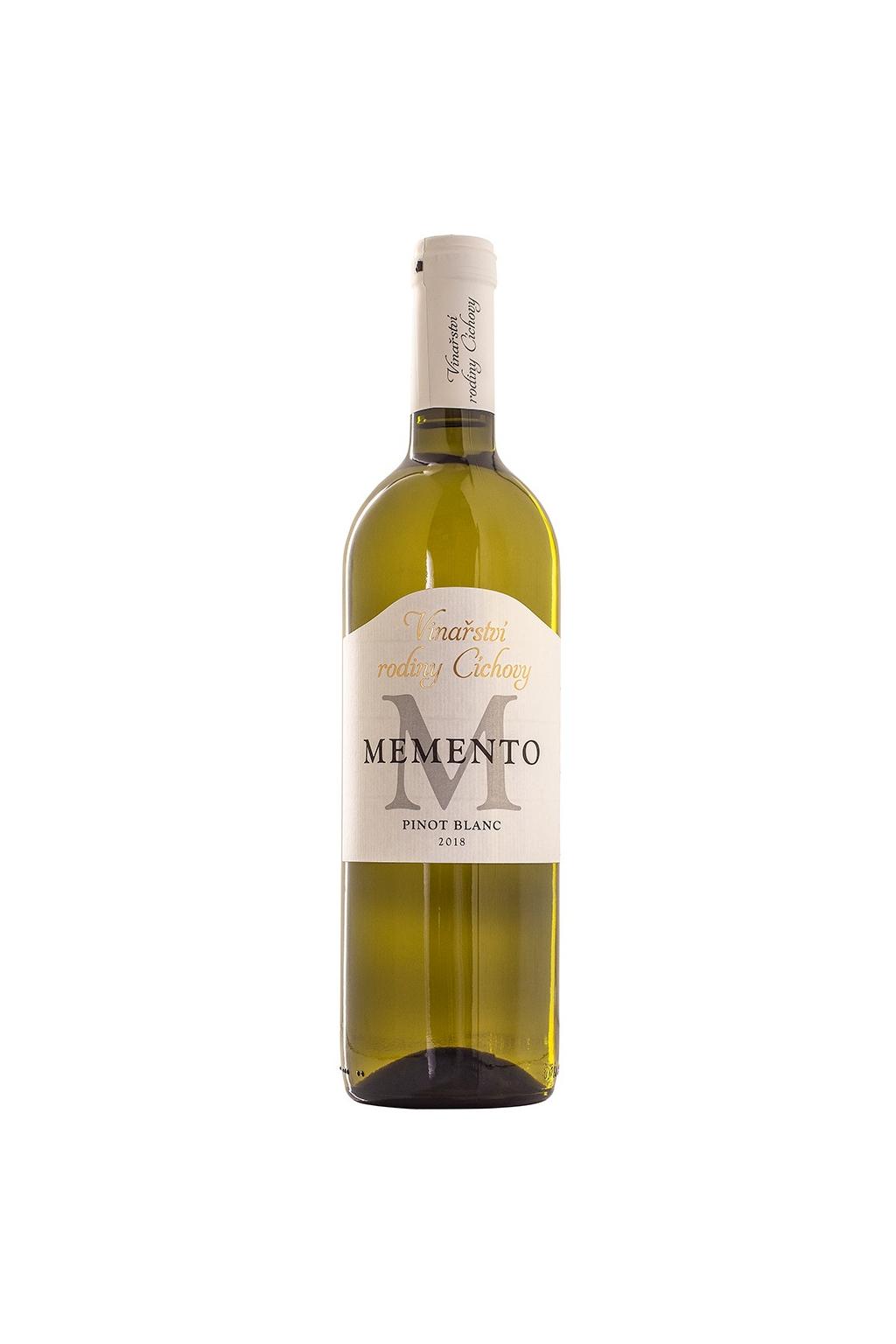 Pinot Blanc 'Memento' pozdní sběr
