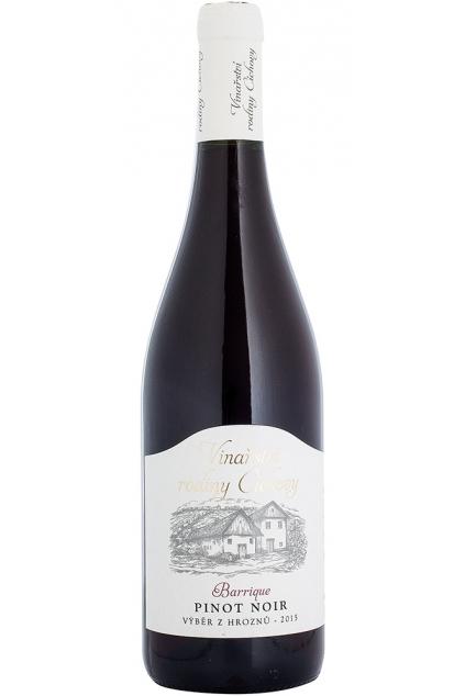 Pinot Noir Barrique výběr z hroznů