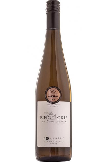 Pinot Gris pozdní sběr