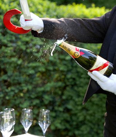 Sabráž – poprava šampaňského?