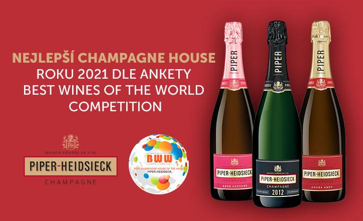 nejlepší champagne house 2021