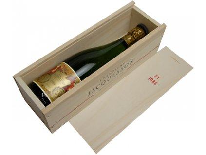 Jacquesson 1988 v dřevěné dárkové krabičce