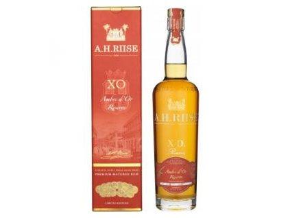 A.H. RIISE XO Ambre D`OR Reserve 42% (0,7l) v dárkové krabičce