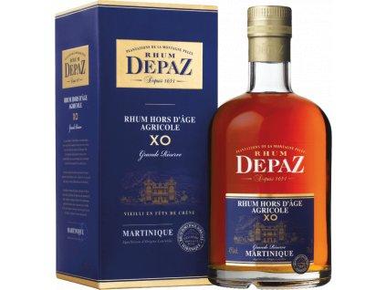 Depaz XO Grande Réserve rum (0,7l) v dárkové krabičce
