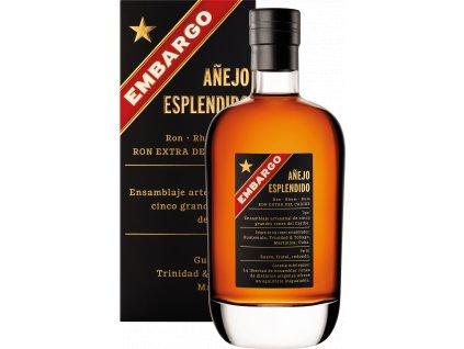 Embargo Anejo Esplendido (0,7l) v dárkové krabičce
