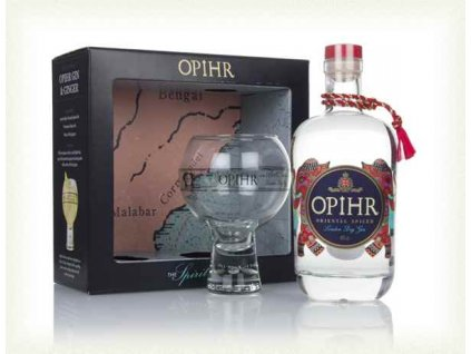 opihr oriental spiced gin gift pack with glass gin