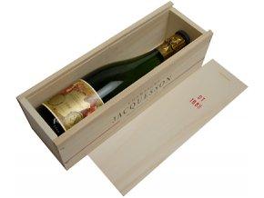 Jacquesson 1989 (0,75l) v dřevěné dárkové krabičce
