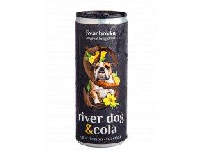 cans 4 all drink 2 go pivo v plechu svachovka original long drink river dog cola rum tuzemak 250 ml
