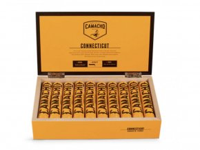 5441 camacho connecticut robusto tubos 10 ks