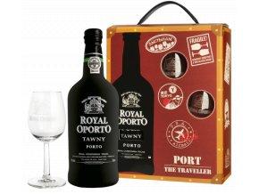 Royal Oporto Tawny Traveller (0,75l) v dárkovém balení se skleničkami