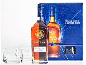 METAXA 12 sklo big
