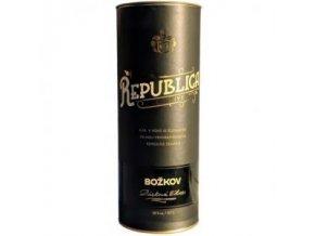 Božkov Republica Exclusive (0,7l) v dárkové tubě