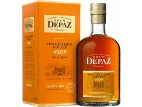 Depaz VSOP Réserve Spéciale rum  (0,7l) v dárkové krabičce