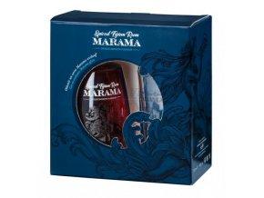 Marama Spiced Fijian Rum (0,7l) v dárkové krabičce se skleničkou