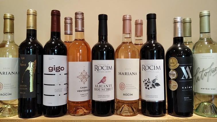 portugalská vína Vinotéka ve dvoře