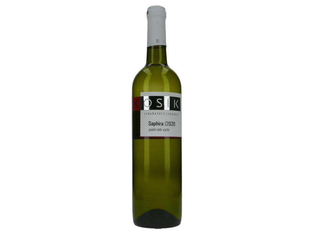 Saphira vinařství Kosík Vinotéka ve dvoře