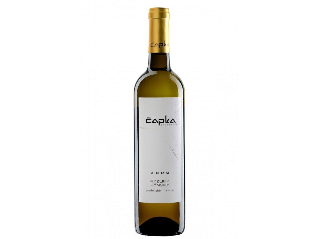 Ryzlink rýnský vinařství Čapka Vinotéka ve dvoře