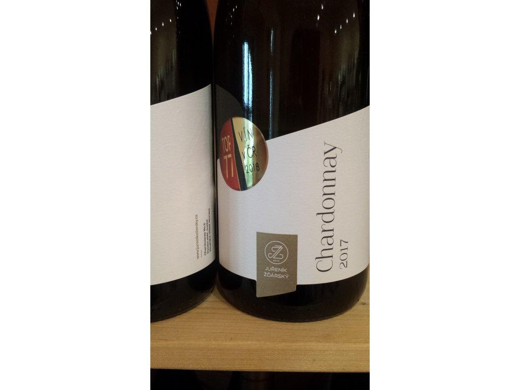 Chardonnay vinařství Juřeník Žďárský