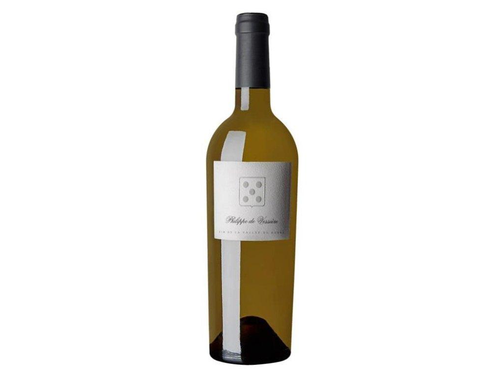 Phillippe de Vessière blanc Vinotéka ve dvoře