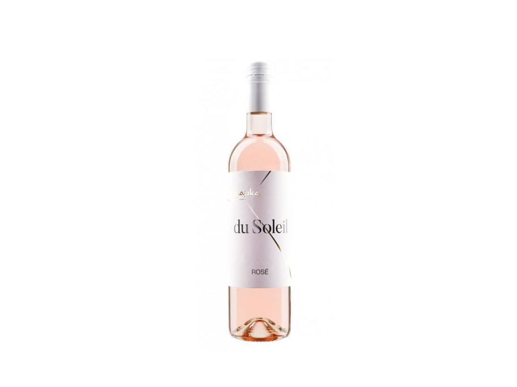 rosé du Soleil vinařství Čapka Vinotéka ve dvoře
