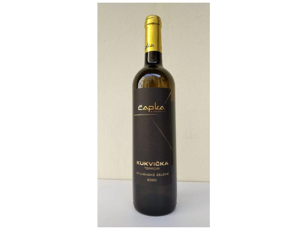 Sylvánské zelené Terroir Kukvička vinařství Čapka Vinotéka ve dvoře