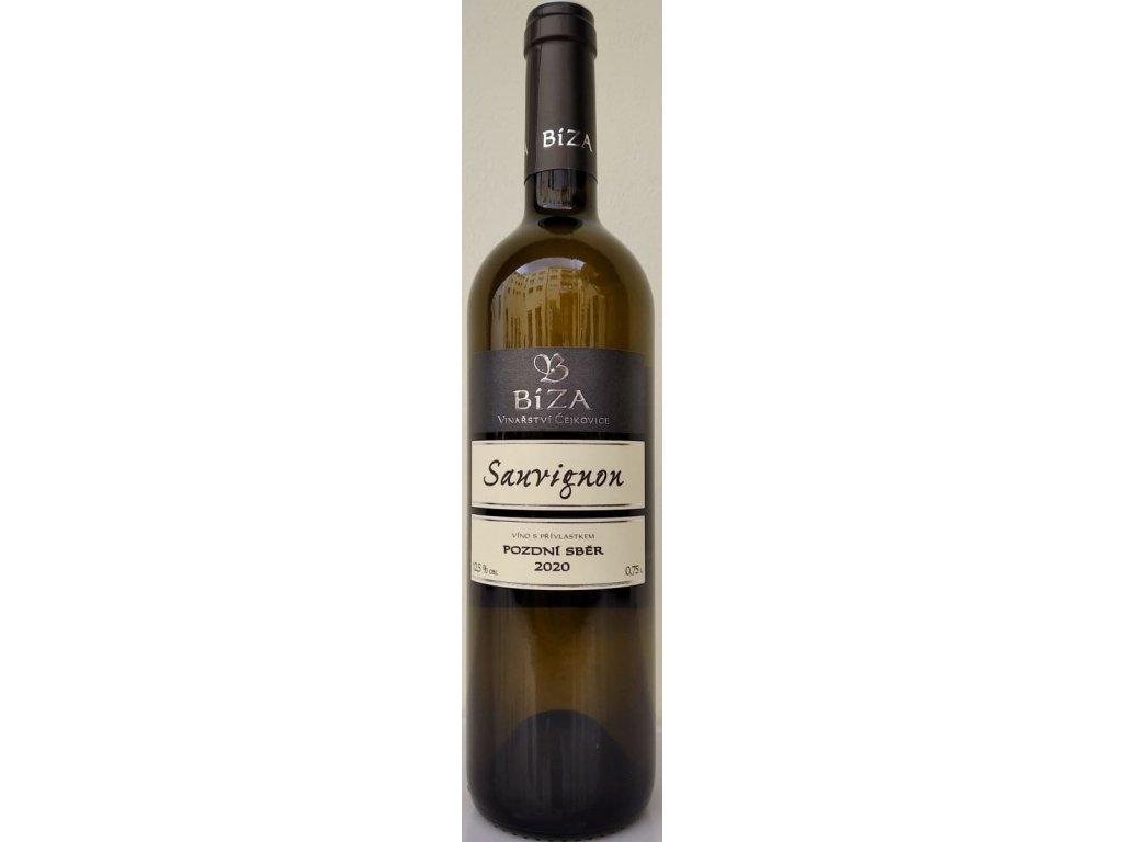 Sauvignon vinařství Bíza Vinotéka ve dvoře