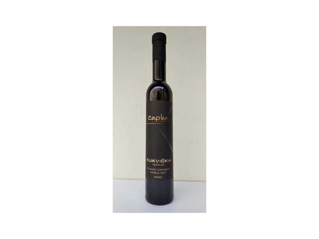 Tramín červený výběr z cibéb vinařství Čapka Vinotéka ve dvoře