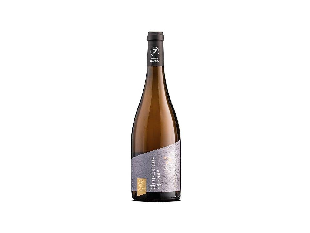 Chardonnay Vejce 2019 Juřeník&Žďárský Vinotéka ve dvoře